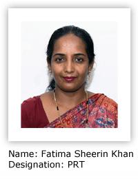 Fatima Sheerin Khan